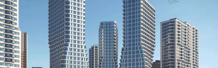 Новый квартал в рамках третьего этапа застройки промзоны «Серп и молот» будет состоять из башен различной конфигурации. Проект, разработанный мастерской ATRI...