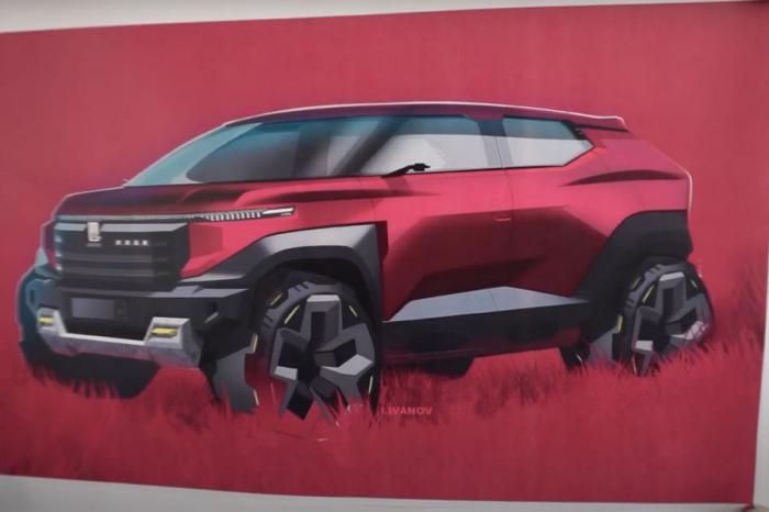 Внедорожник получил черты так называемого X-дизайна авторства экс-художника Lada Стива Маттина. Автомобиль отличается узкой светодиодной полосой надре...