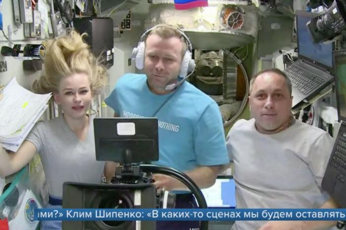1tv.ru' class=»item-image» > В том, что международная космическая станция (МКС) развернулась на57градусов притестировании д...