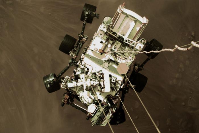 Космическое агентство США NASA опубликовала наYouTube видео созвуками, которые слышны наМарсе. Ихзаписал ровер Perseverance. Он&nb...