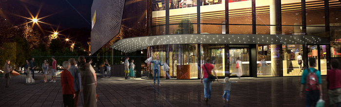Многофункциональный общественный центр на месте бывшего кинотеатра «София» на востоке столицы получил разрешение на ввод в эксплуатацию. Об этом сообщил ...