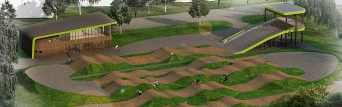Строительство BMX-велодрома для ГБУ «Спортивная школа олимпийского резерва «Нагорная» Москомспорта» на севере столицы находится в активной фазе, сообщил ...